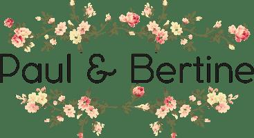 Paul et Bertine Logo